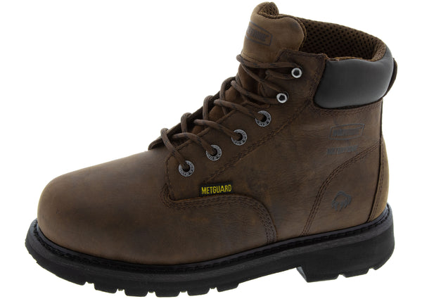 Wolverine McCay Steel Toe Brown