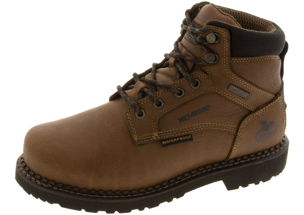 Georgia Boot Revamp Steel Toe Brown