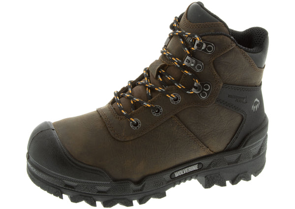 Wolverine Warrior 6 Met Composite Toe Dark Coffee