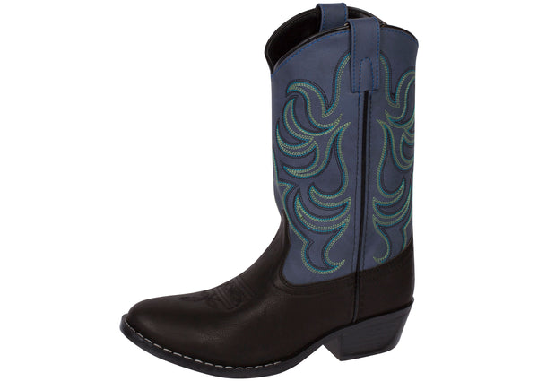 Smoky Mountain Boots Kids Monterey Black