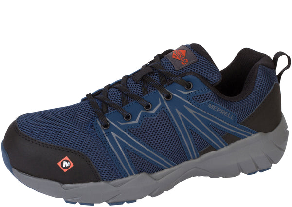 Merrell Work Fullbech Superlite Alloy Toe Blue Wing