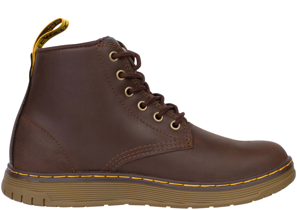 Dr Martens Work Ledger Steel Toe Dark Brown