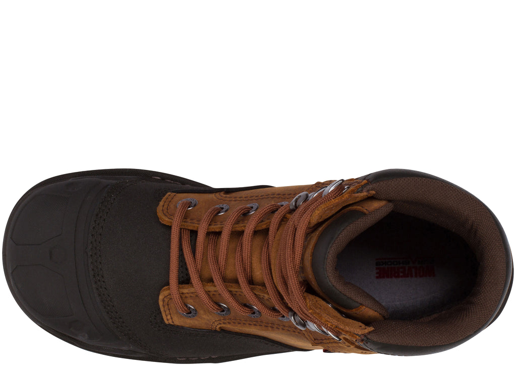 Wolverine Yukon 6 Compostite Toe Brown