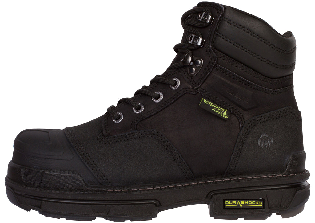Wolverine Yukon 6 Compostite Toe Black