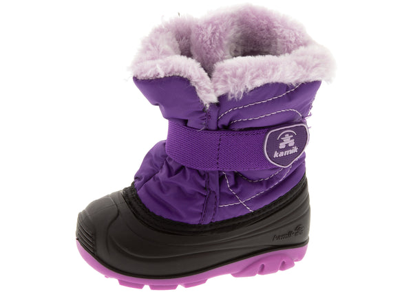 Kamik Toddlers Snowbug F Purple Print