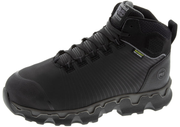 Timberland Pro Powertrain Sport Alloy Toe Black EverGuard Leather