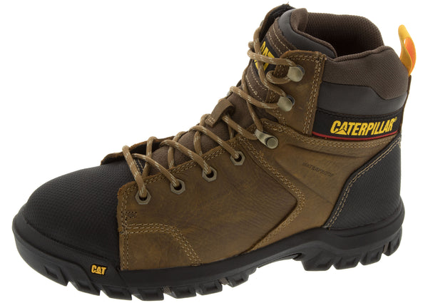 Caterpillar Wellspring Steel Toe Real Brown