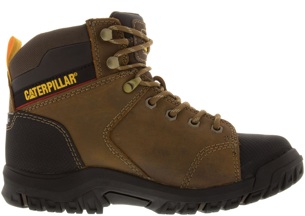 Caterpillar Womens Wellspring Steel Toe Real Brown