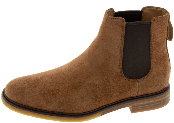 Clarks Clarkdale Gobi Dark Tan Brown
