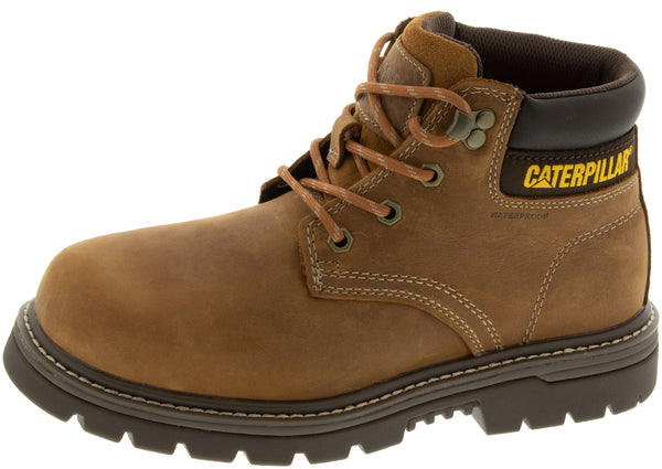 Caterpillar Outbase Steel Toe Brown