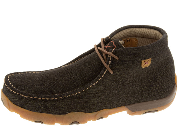 Twisted X Driving Moc Steel Toe Rubberized Brown