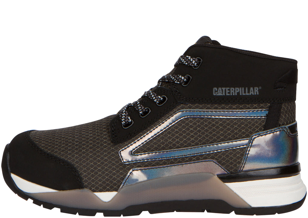 Caterpillar Womens Sprint Mid Alloy Toe Black