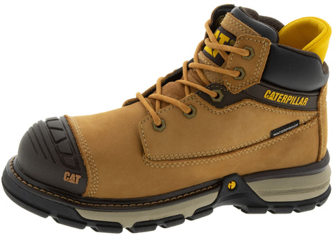 Caterpillar Womens Excavator Sperlite Nano Toe Sundan Brown