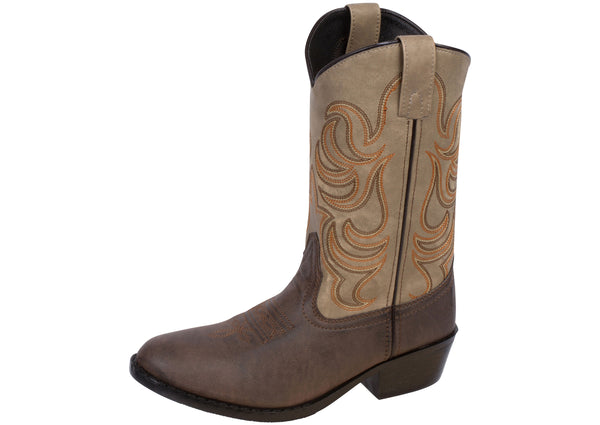 Smoky Mountain Boots Kids Monterey Brown Tan