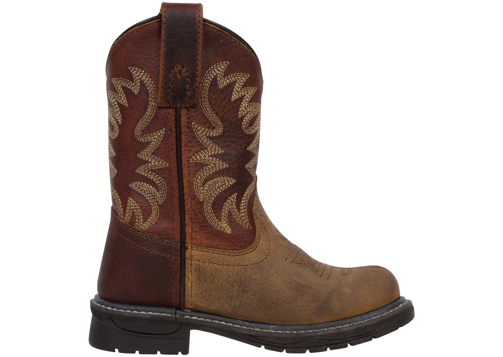 Smoky Mountain Boots Childrens Buffalo Brown
