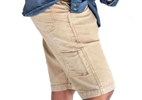Dovetail Workwear Womens Maven Slim Work Short Flax Canvas