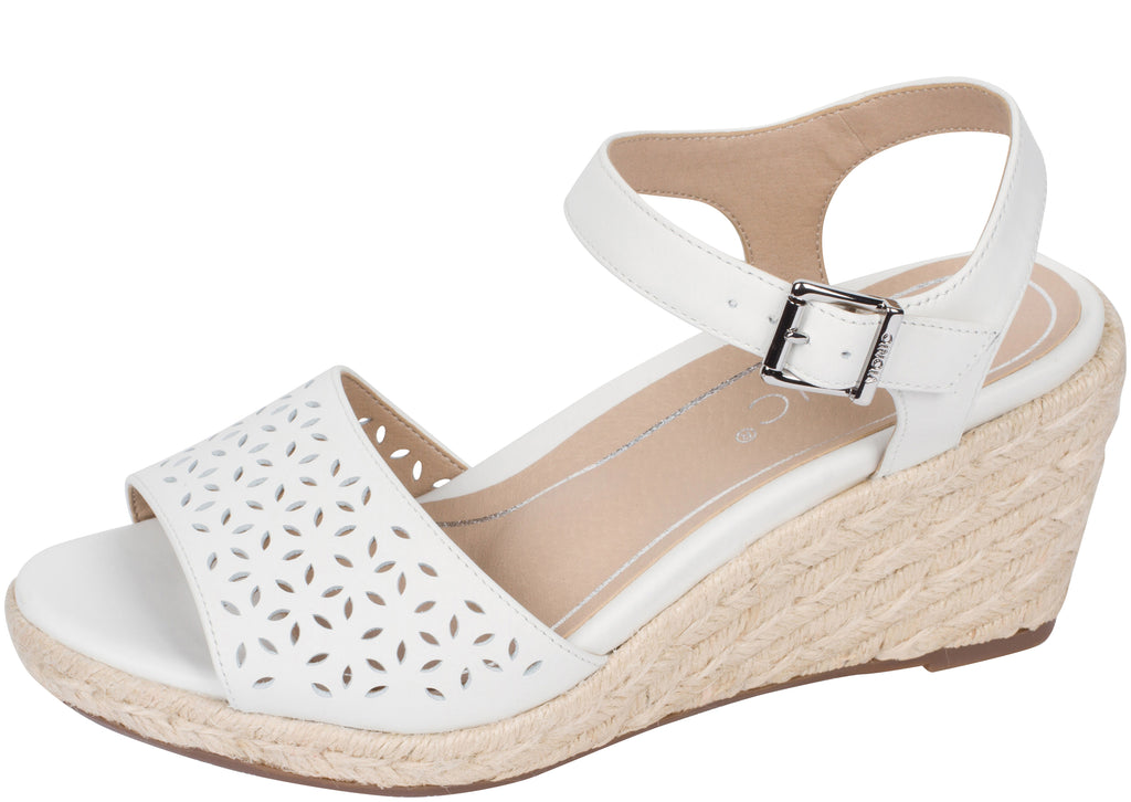 Vionic Womens Tulum Ariel Leather White