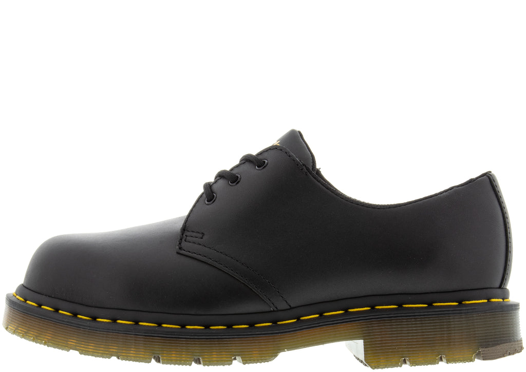 Dr Martens Work 1461 Steel Toe Black