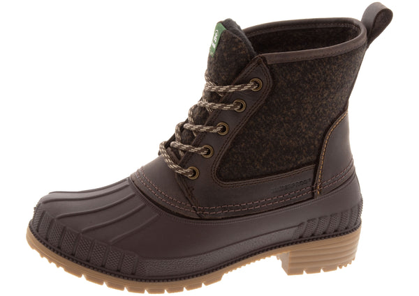 Kamik Womens Sienna Mid Dark Brown