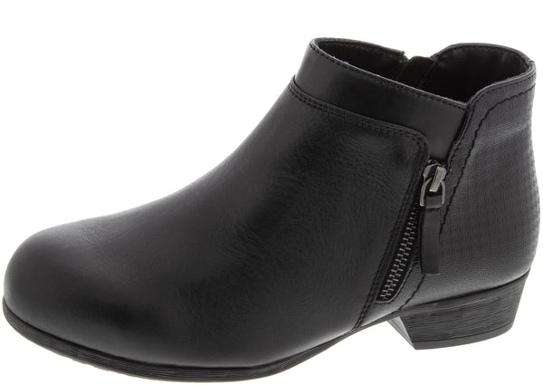 Rockport Work Womens Carly Work Alloy Toe Black