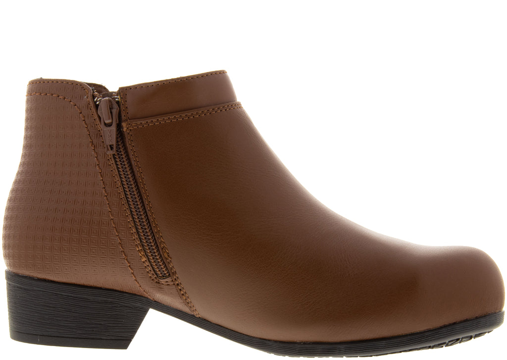 Rockport Work Womens Carly Work Alloy Toe Brown