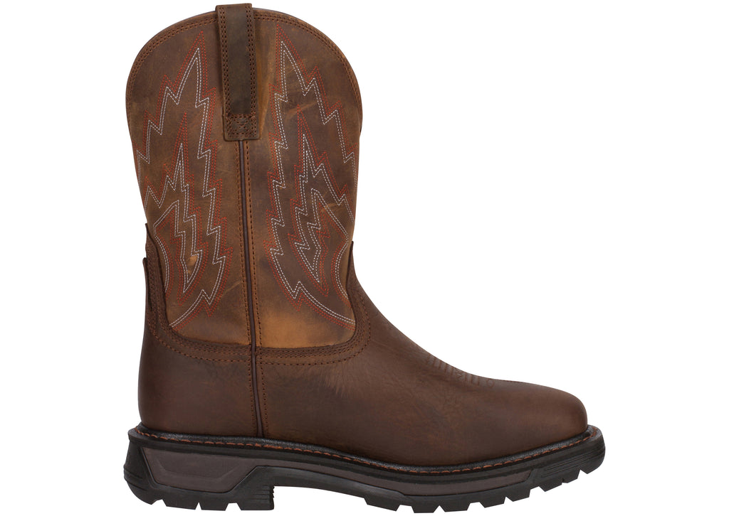 Ariat Big Rig H20 Dark Brown Distressed Brown