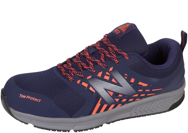 New Balance Work 412 ESD Alloy Toe Navy Orange Castlerock