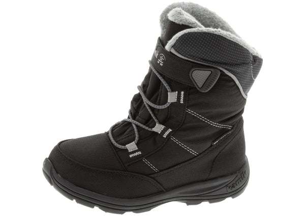 Kamik Childrens Stance Black Mid Grey