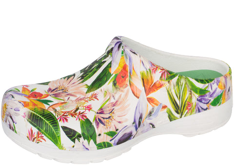 Dansko Womens Kane Molded Soft Toe Vintage Tropical
