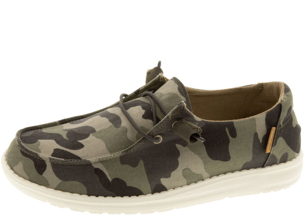Hey Dude Womens Wendy Camo