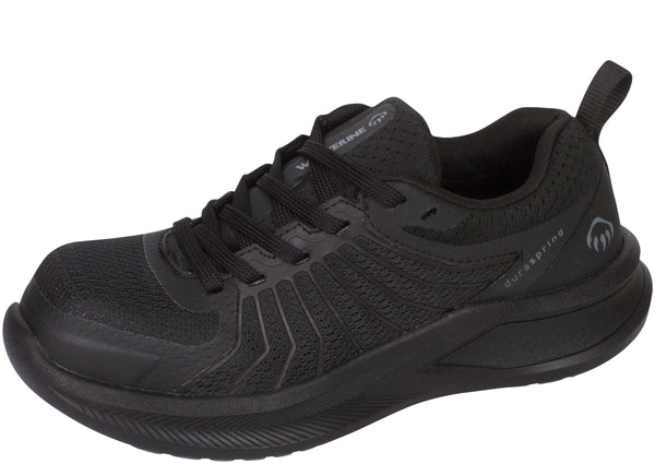 Wolverine Womens Bolt Durashocks Composite Toe Black