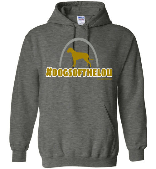Dogs of the LOU - St. Louis Gildan Hoodie