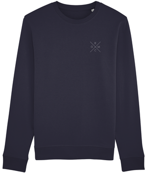 KGM ORIGINAL MENS SWEATSHIRT - BLACK // NAVY - KGM COLLECTIVE