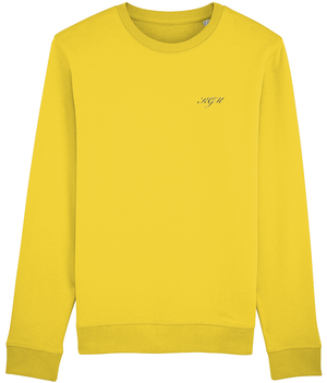 ROYAL SWEATSHIRT - CREAM HEATHER GREY // CREAM HEATHER PINK // YELLOW - KGM COLLECTIVE