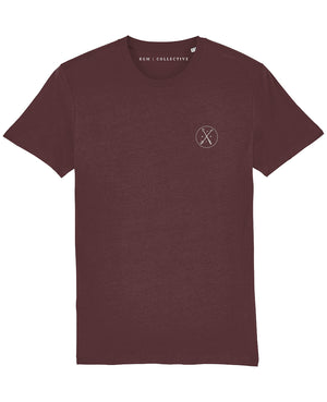 SIGNATURE T-SHIRT - BLACK // BURGUNDY // NAVY