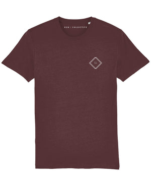 EST. 1996 SIMPLE T SHIRT - BLACK // BURGUNDY // DESERT DUST - KGM COLLECTIVE