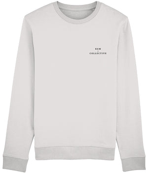 DESIGNER SWEATSHIRT - HEATHER PINK // HEATHER GREY - KGM COLLECTIVE