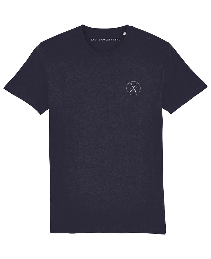 SIGNATURE T-SHIRT - BLACK // BURGUNDY // NAVY - KGM COLLECTIVE