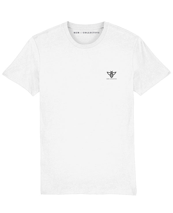 BEE T SHIRT // WHITE - KGM COLLECTIVE