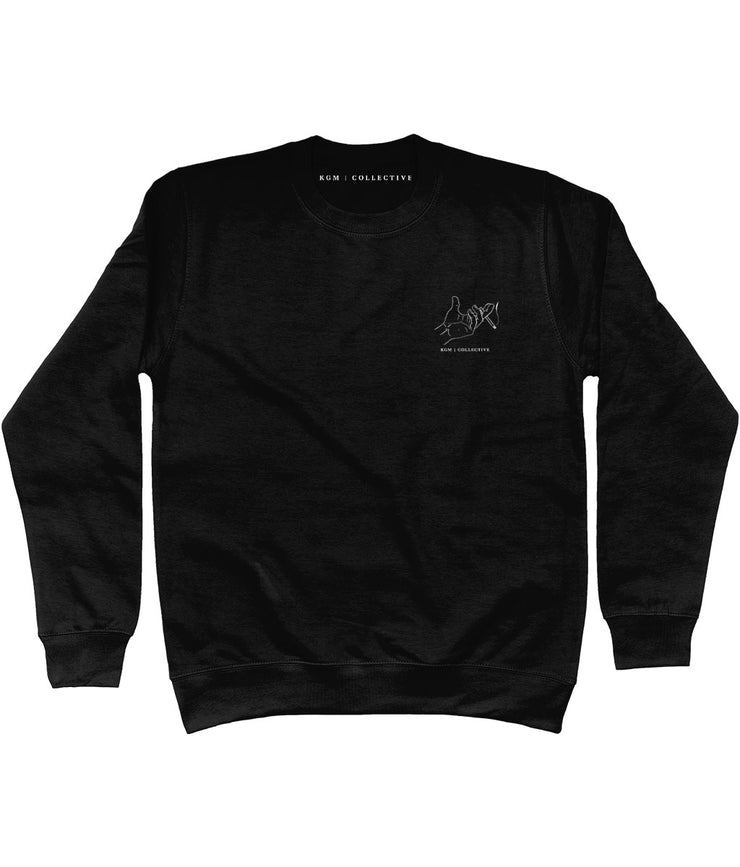 HAND OUTLINE SWEATSHIRT