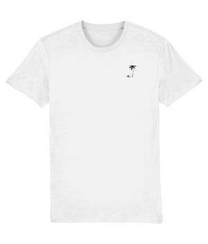 WAVES SUMMER T-SHIRTS MENS - WHITE - KGM COLLECTIVE