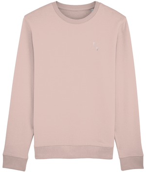 KINGS - SWEATSHIRT - BLACK // NAVY // CREAM HEATHER PINK - KGM COLLECTIVE