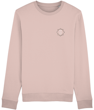 DIMOND DESIGNERS MENS JUMPERS - NAVY // CREAM HEATHER PINK - KGM COLLECTIVE