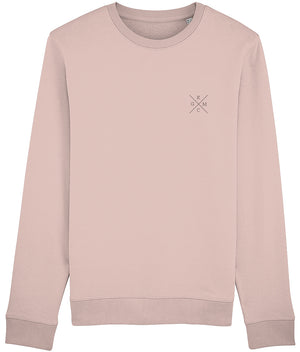 KGM ORIGINAL SWEATSHIRT - WHITE // HEATHER GREY //HEATHER PINK