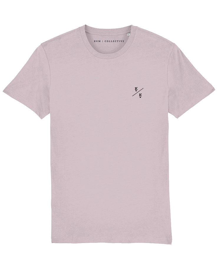 KINGS T-SHIRT - WHITE // COTTON PINK // DESERT DUST - KGM COLLECTIVE