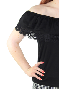 Senorita Top - Black