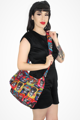 Day of the Dead Catrinas Messenger Bag #CMB