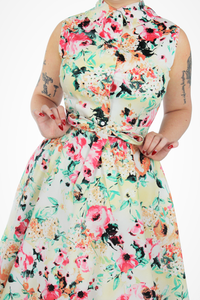 Floral Circle Dress With Pockets XS-3XL #FCD
