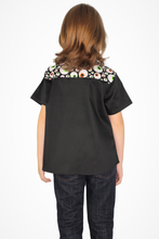 Load image into Gallery viewer, Boy's Googly Eyes Western Top - Trick or Treat Top #TTBT