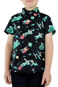 Boy's To Infinity Space Top #BTIBT